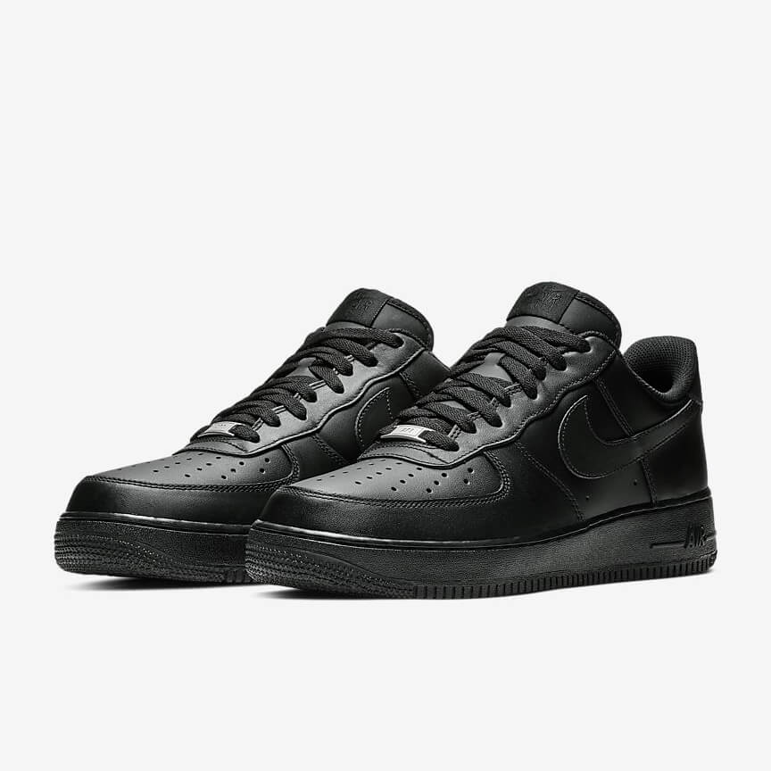Nike Air Force 1 07 Sale Low Schwarz Schuhe Damen Herren