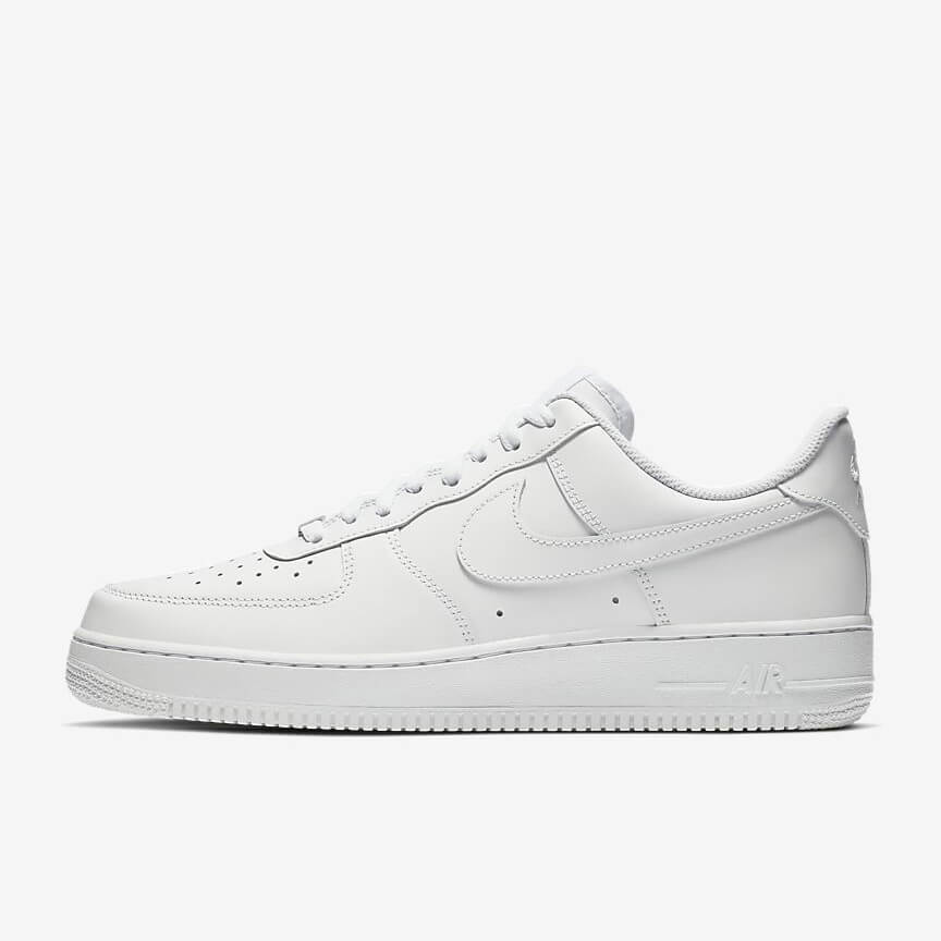Nike Air Force 1 07 Günstig Low Weiß Schuhe Damen Herren