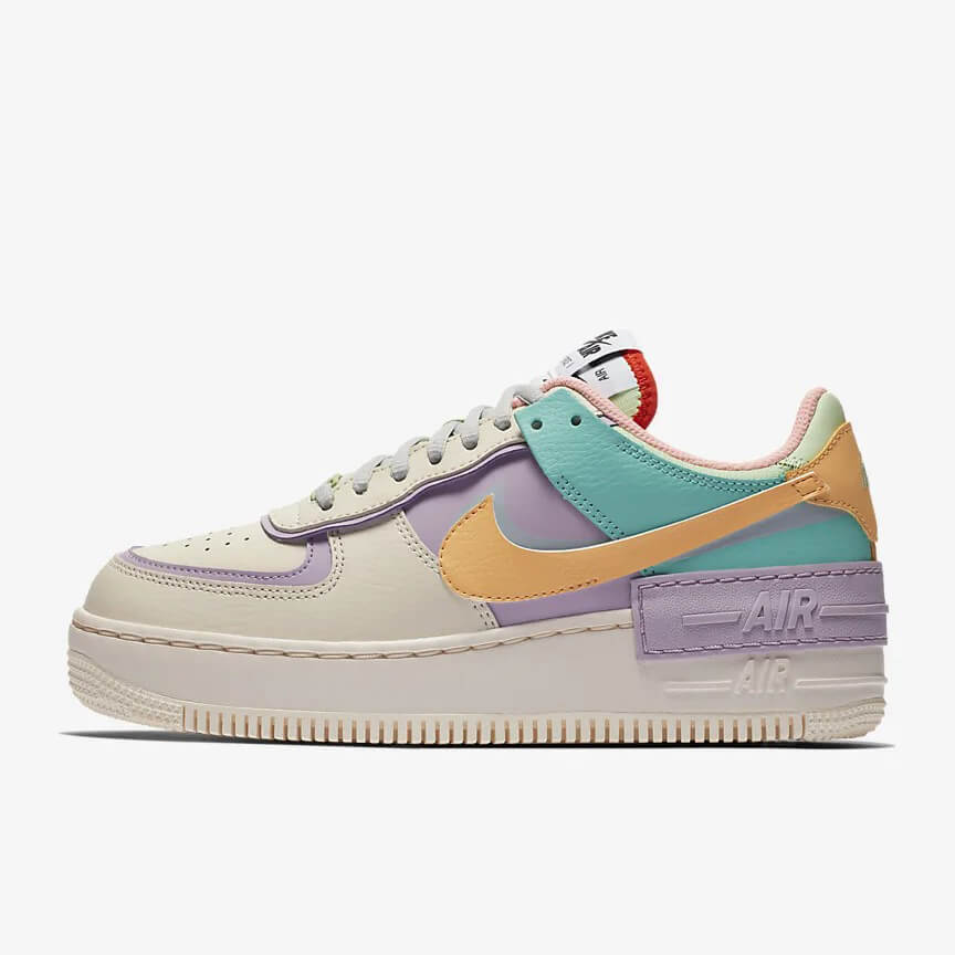 Nike Air Force 1 Shadow Kaufen Low Pale Ivory Pastel Bunt Schuhe Damen