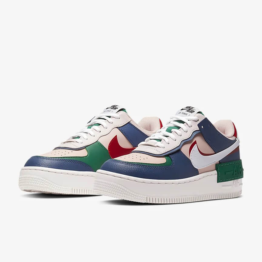Nike Air Force 1 Shadow Mystic Navy Sale Low Rosa Navy Schuhe Damen