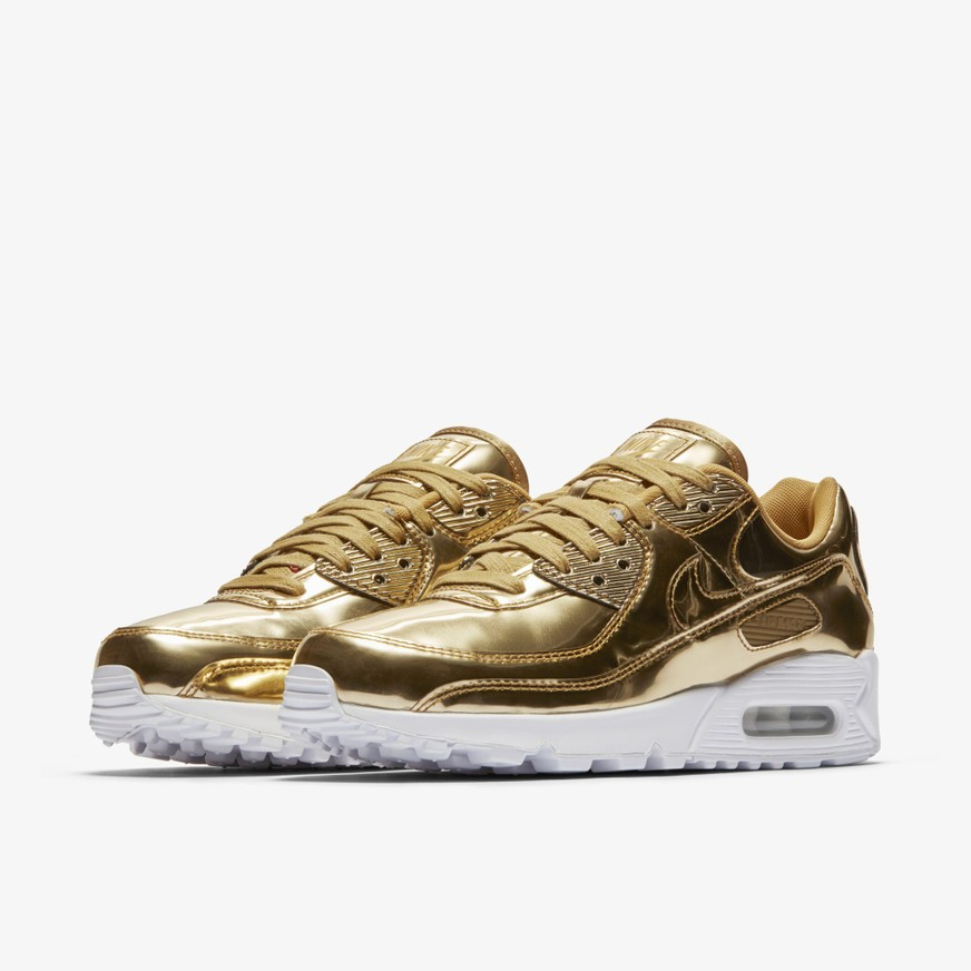 Nike Air Max 90 SP Sale Gold Schuhe Damen Herren