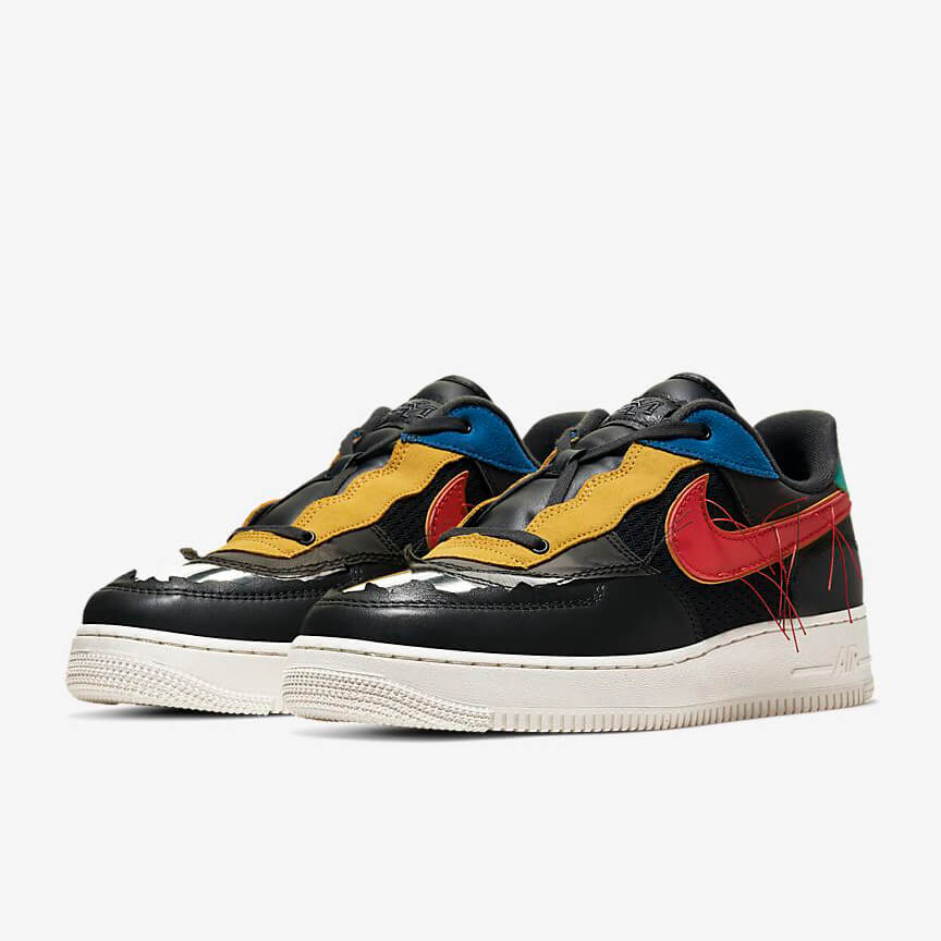 Nike Air Force 1 Black History Month Kaufen Low Multicolor Schuhe Damen Herren