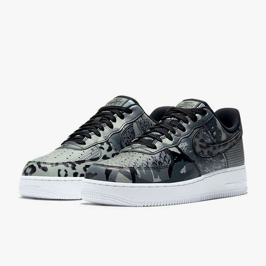 Nike Air Force 1 07 City Of Dreams Kaufen Low Schwarz Schuhe Damen Herren