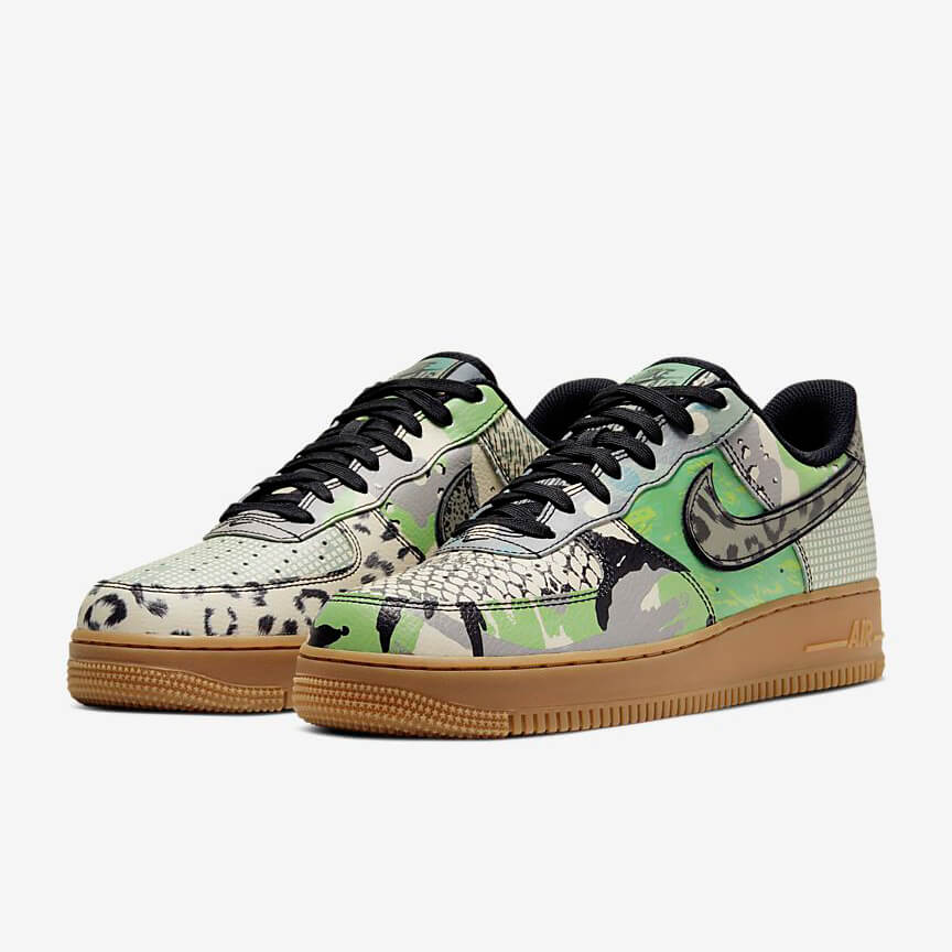 Nike Air Force 1 07 City Of Dreams Reduziert Low Grün Schuhe Damen Herren